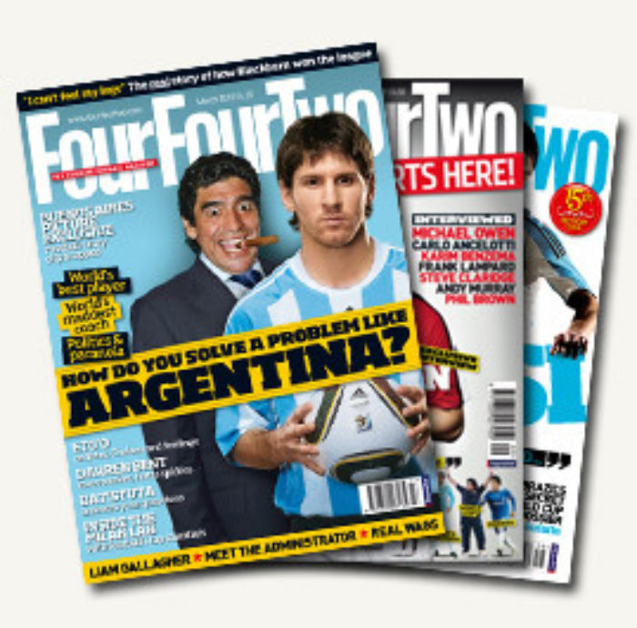 FourFourTwo covers