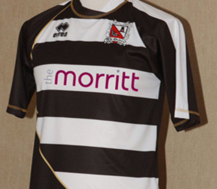 Darlington FC home shirt