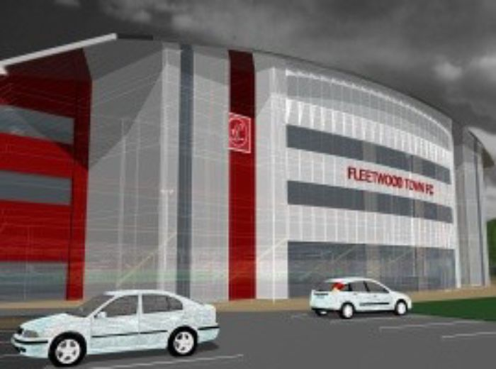 Fleetwood Town East Stand