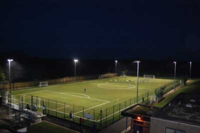 Henry Beaufort School astroturf