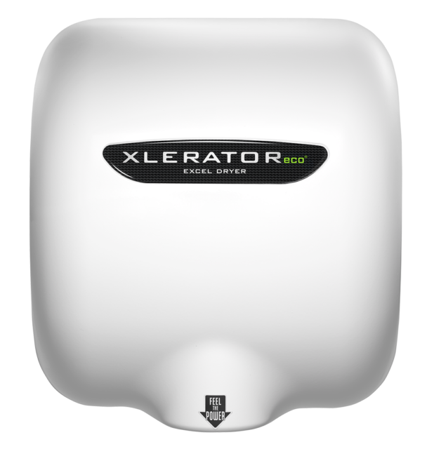 XLERATOR® hand dryer models are now offered with 50 % longer life and industry leading 7 year warranty.